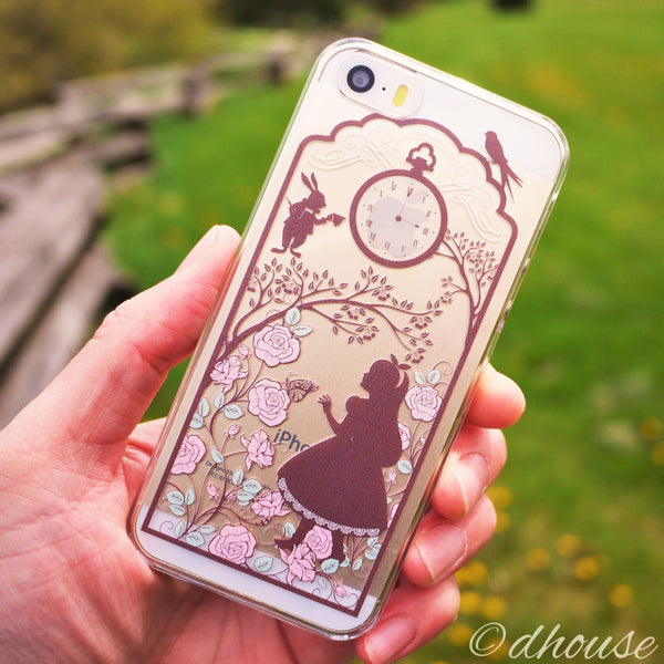 MADE IN JAPAN Hard Shell Clear Case for iPhone SE/5/5s - Alice in Wonderland - Dhouse USA - 3