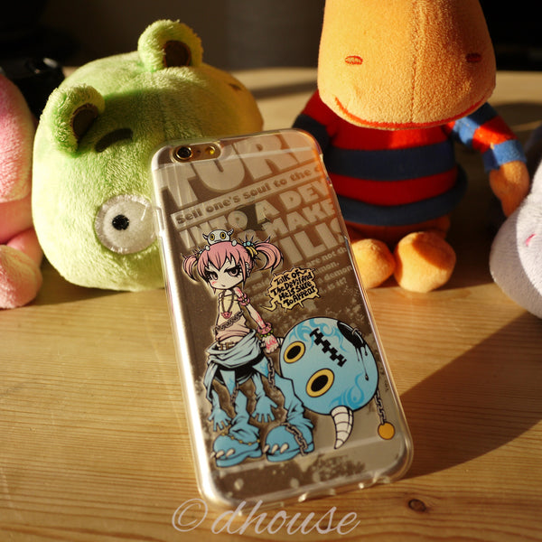 MADE IN JAPAN Soft Clear iPhone 6/6s Case - Project.C.K. Anime - Dhouse USA - 4