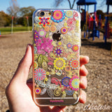 MADE IN JAPAN Soft Clear iPhone 6/6s Case - Vuodenaika Flowers - Dhouse USA - 1