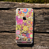 MADE IN JAPAN Soft Clear iPhone 6/6s Case - Vuodenaika Flowers - Dhouse USA - 3