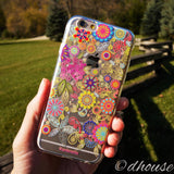 MADE IN JAPAN Soft Clear iPhone 6/6s Case - Vuodenaika Flowers - Dhouse USA - 4