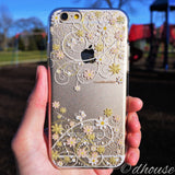 MADE IN JAPAN Soft Clear iPhone 6/6s Case - Cute Floral pattern - Dhouse USA - 1