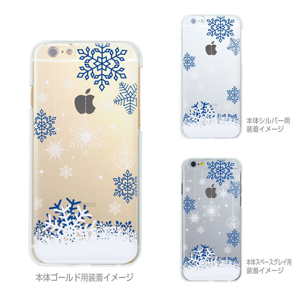 MADE IN JAPAN Soft Clear iPhone 6/6s Case - Snowflake Blue - Dhouse USA - 2