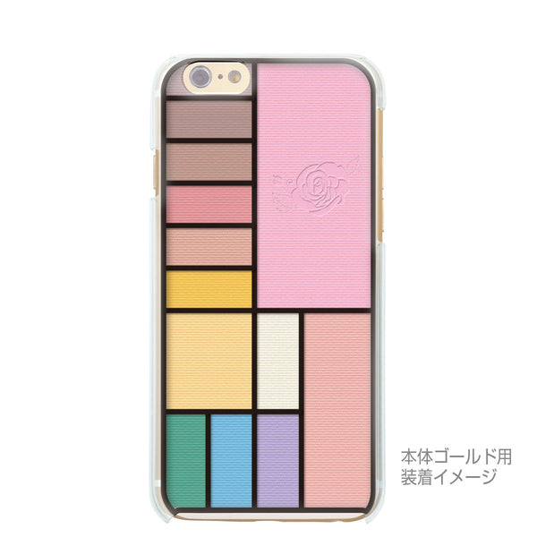 MADE IN JAPAN Soft Clear iPhone 6/6s Case - Cosmetics Palette - Dhouse USA - 2