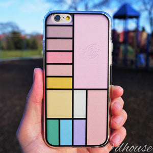 MADE IN JAPAN Soft Clear iPhone 6/6s Case - Cosmetics Palette - Dhouse USA - 1