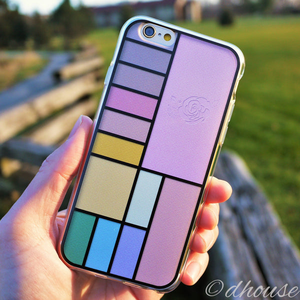 MADE IN JAPAN Soft Clear iPhone 6/6s Case - Cosmetics Palette - Dhouse USA - 4