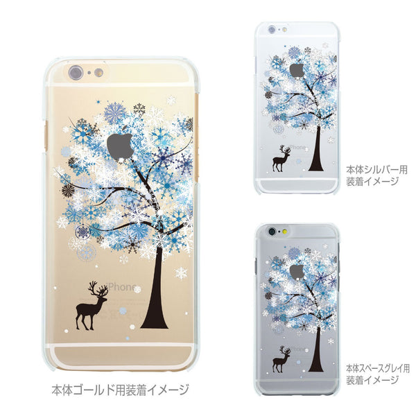 MADE IN JAPAN Soft Clear iPhone 6/6s Case - Reindeer Snow Tree - Dhouse USA - 2