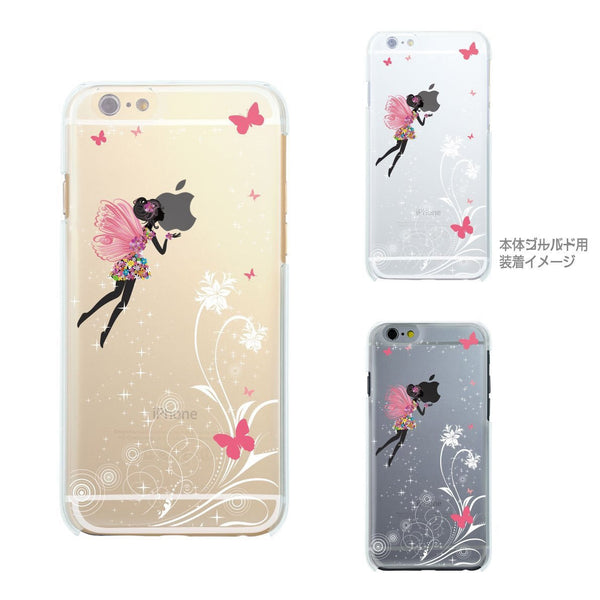 MADE IN JAPAN Soft Clear iPhone 6/6s Case - Butterfly Fairy - Dhouse USA - 2