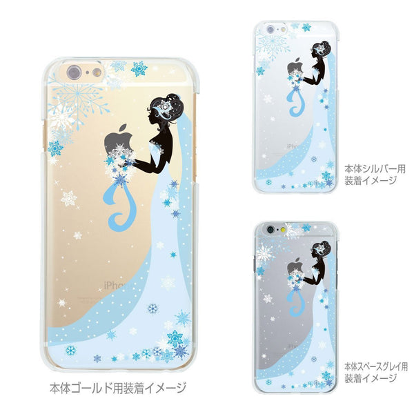 MADE IN JAPAN Soft Clear iPhone 6/6s Case - Bride Wedding Snow - Dhouse USA - 2