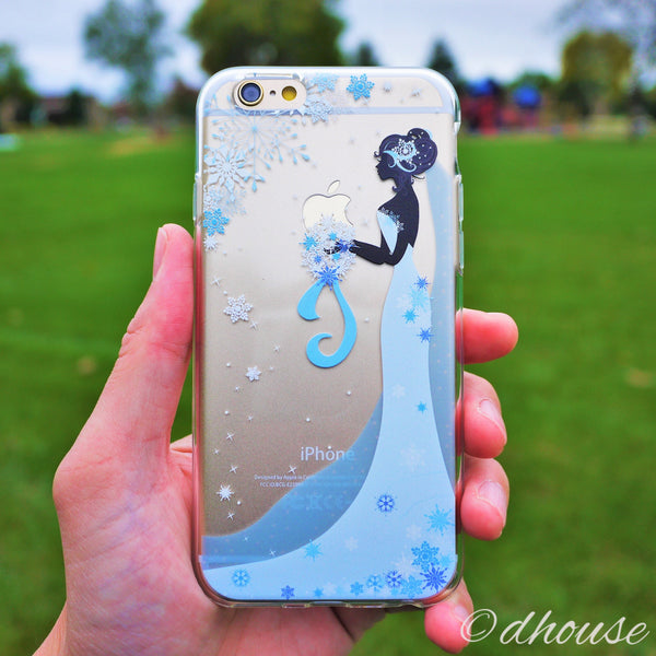 MADE IN JAPAN Soft Clear iPhone 6/6s Case - Bride Wedding Snow - Dhouse USA - 1