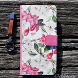 Cute Wallet iPhone Case - Cherry Blossoms Made in Japan by DHOUSE