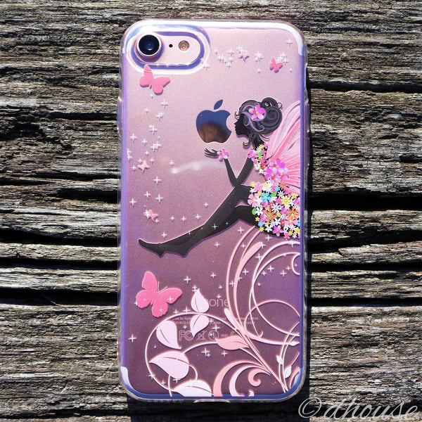 MADE IN JAPAN Soft Clear Case - Cute Fairy for iPhone 7 - Dhouse USA - 1