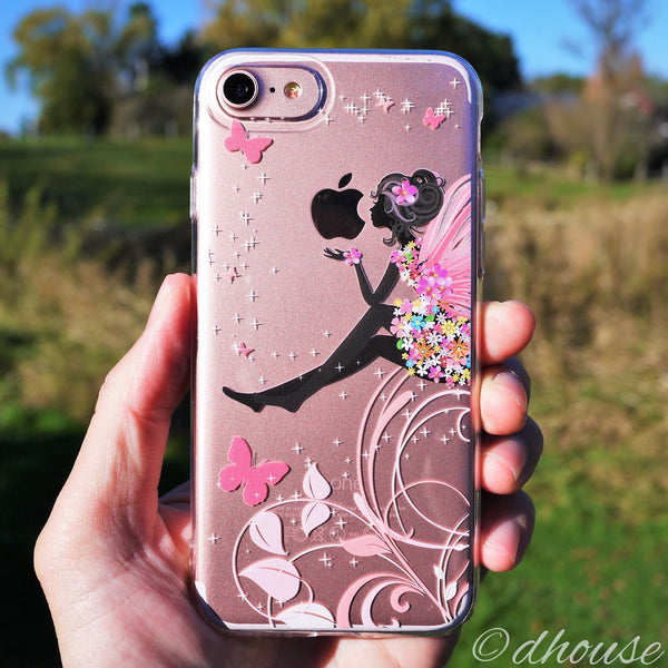 MADE IN JAPAN Soft Clear Case - Cute Fairy for iPhone 7 - Dhouse USA - 2