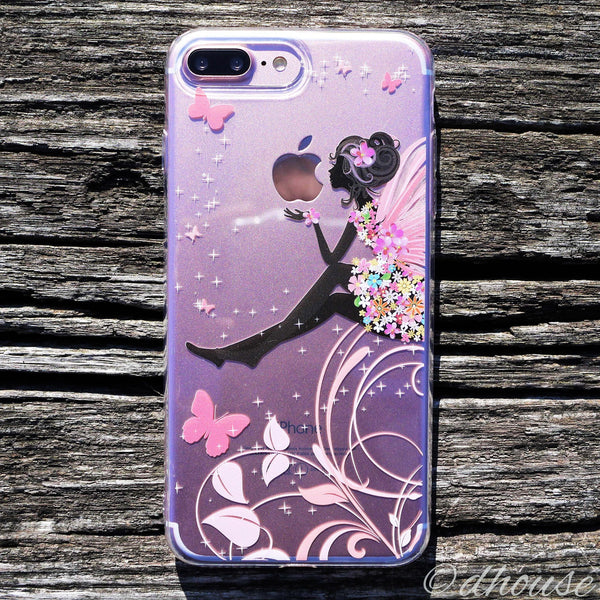 MADE IN JAPAN Soft Clear Case - Cute Fairy for iPhone 7 Plus - Dhouse USA - 2