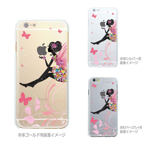 MADE IN JAPAN Soft Clear Case - Cute Fairy for iPhone 7 - Dhouse USA - 3