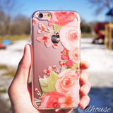 MADE IN JAPAN Soft Clear iPhone 6/6s Case - Rose Pink - Dhouse USA - 1