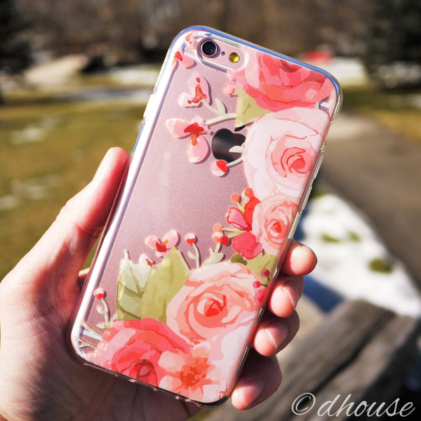 MADE IN JAPAN Soft Clear iPhone 6/6s Case - Rose Pink - Dhouse USA - 4