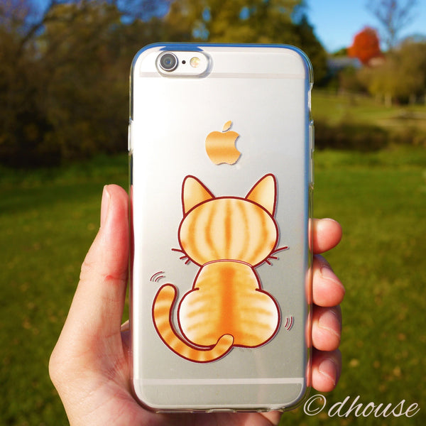 MADE IN JAPAN Soft Clear Case - Cute Cat for iPhone 6/6s - Dhouse USA - 1