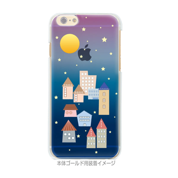 MADE IN JAPAN Soft Clear iPhone 6/6s Case - City Night Houses - Dhouse USA - 2