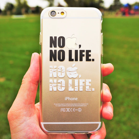 MADE IN JAPAN Soft Clear iPhone 6/6s Case - Life Message - Dhouse USA - 1