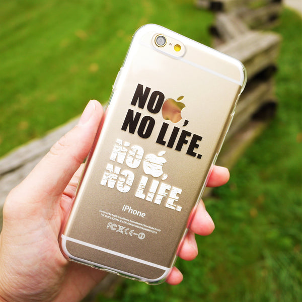 MADE IN JAPAN Soft Clear iPhone 6/6s Case - Life Message - Dhouse USA - 4