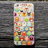 MADE IN JAPAN Soft Clear iPhone 6/6s Case - mofpof cute animals - Dhouse USA - 1