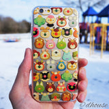 MADE IN JAPAN Soft Clear iPhone 6/6s Case - mofpof cute animals - Dhouse USA - 4