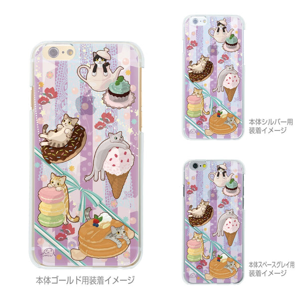 MADE IN JAPAN Soft Clear iPhone 6/6s Case - Cats and Candy - Dhouse USA - 2