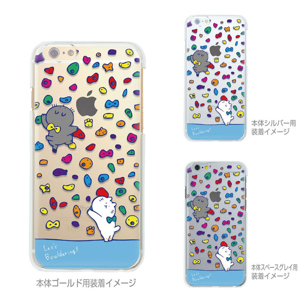 MADE IN JAPAN Soft Clear Case - Cats in Bouldering for iPhone 6/6s - Dhouse USA - 2