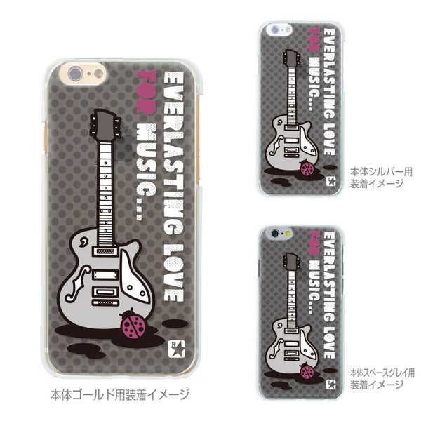 MADE IN JAPAN Soft Clear iPhone 6/6s Case - Guitar Music - Dhouse USA - 2
