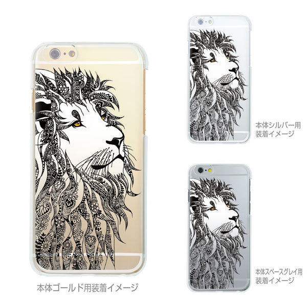 MADE IN JAPAN Soft Clear iPhone Case - Lion Head Art - Dhouse USA - 2