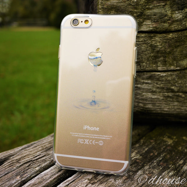 MADE IN JAPAN Soft Clear iPhone 6/6s Case - Water Drop - Dhouse USA - 2