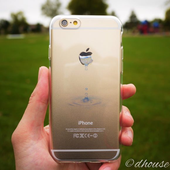MADE IN JAPAN Soft Clear iPhone 6/6s Case - Water Drop - Dhouse USA - 1