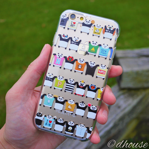 MADE IN JAPAN Soft Clear Case - Potofu Panda for iPhone 6/6s - Dhouse USA - 1