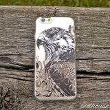 MADE IN JAPAN Soft Clear iPhone 6/6s Case - Hawk Eagle - Dhouse USA - 4
