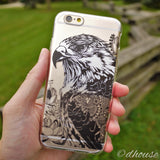 MADE IN JAPAN Soft Clear iPhone 6/6s Case - Hawk Eagle - Dhouse USA - 3
