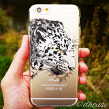 Soft Clear Case - Leopard Panther Made in Japan by DHOUSE