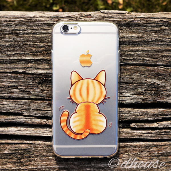 MADE IN JAPAN Soft Clear Case - Cute Cat for iPhone 6/6s - Dhouse USA - 3