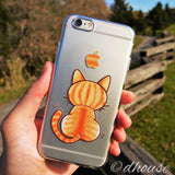 MADE IN JAPAN Soft Clear Case - Cute Cat for iPhone 6/6s - Dhouse USA - 4