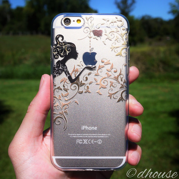 MADE IN JAPAN Soft Clear iPhone Case - Autumn Fairy - Dhouse USA - 1