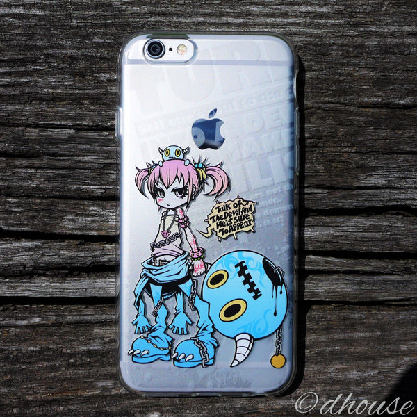MADE IN JAPAN Soft Clear iPhone 6/6s Case - Project.C.K. Anime - Dhouse USA - 3
