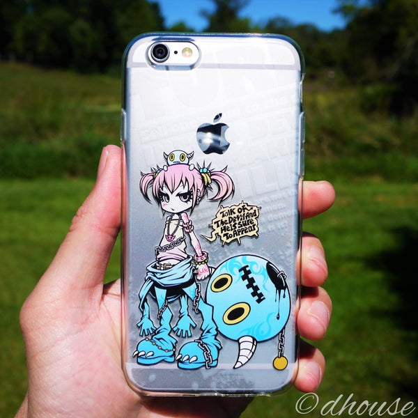 MADE IN JAPAN Soft Clear iPhone 6/6s Case - Project.C.K. Anime - Dhouse USA - 1