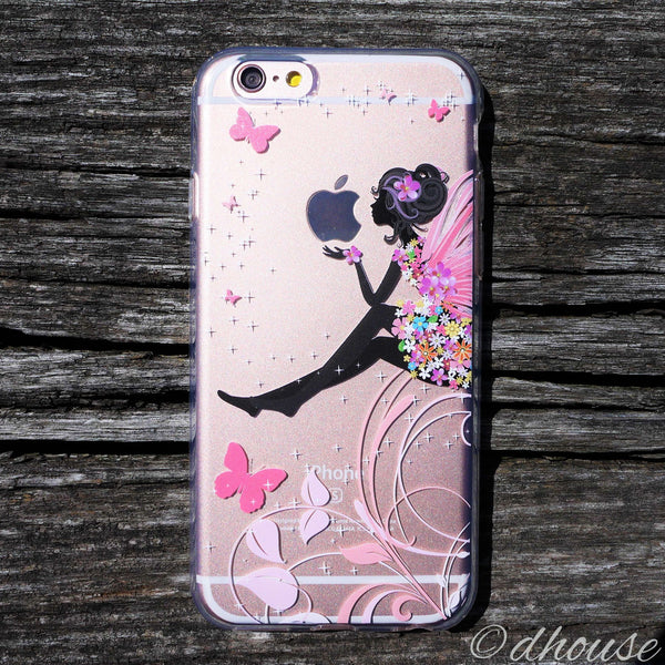 MADE IN JAPAN Soft Clear Case - Cute Fairy for iPhone 6/6s Plus - Dhouse USA - 1