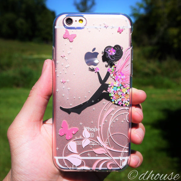 MADE IN JAPAN Soft Clear Case - Cute Fairy for iPhone 6/6s Plus - Dhouse USA - 6