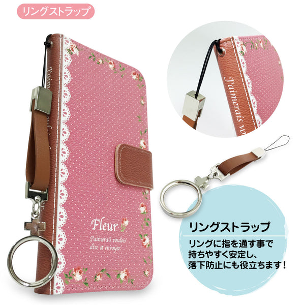 MADE IN JAPAN Wallet Case - Cute Fairy Flowers Pink for iPhone 6/6s - Dhouse USA - 9