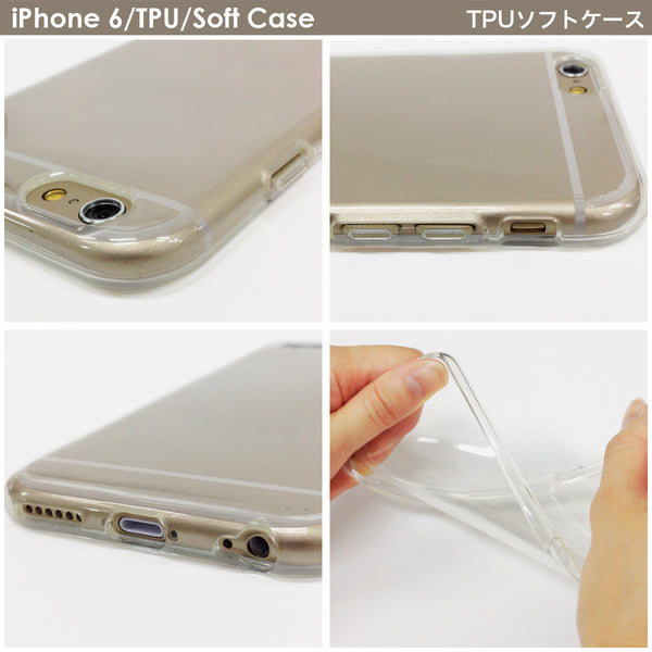 MADE IN JAPAN Soft Clear iPhone 6/6s Case - Rough Box Pattern - Dhouse USA - 5