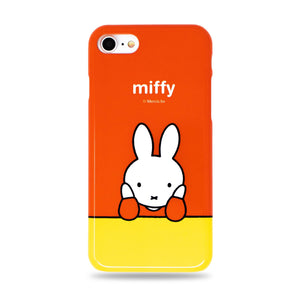 Miffy Snap iPhone Case Orange/Yellow Made in Japan