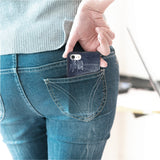 Made in Japan Ripped Denim Jean Wallet iPhone Case