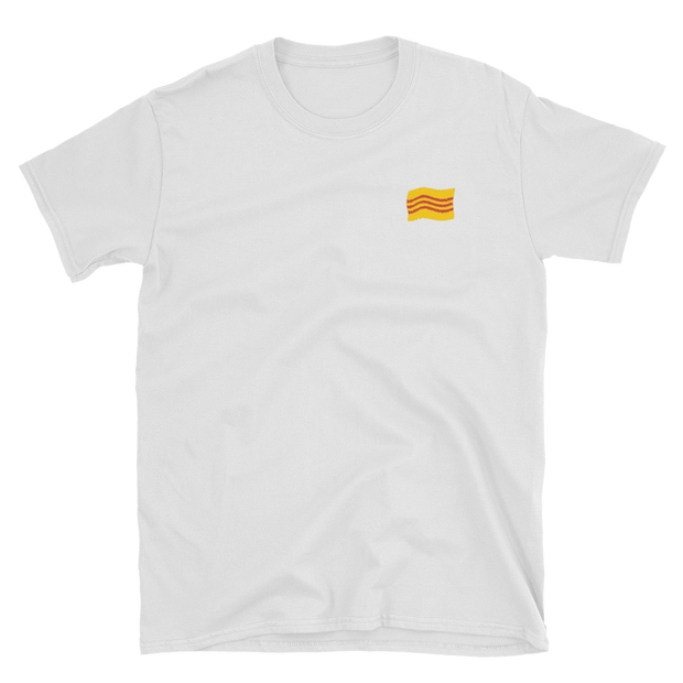South Flag Embroidered T-Shirt