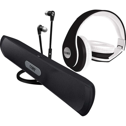 Coby 3 in 1 Audio Combo Pack